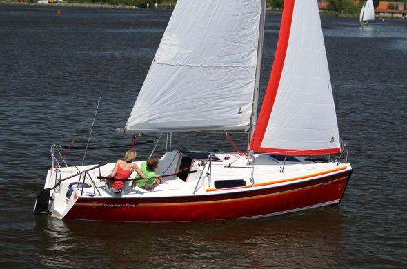 Kajuitzeilboot kopen - Fox 22 - hefkiel- Ottenhome Heeg
